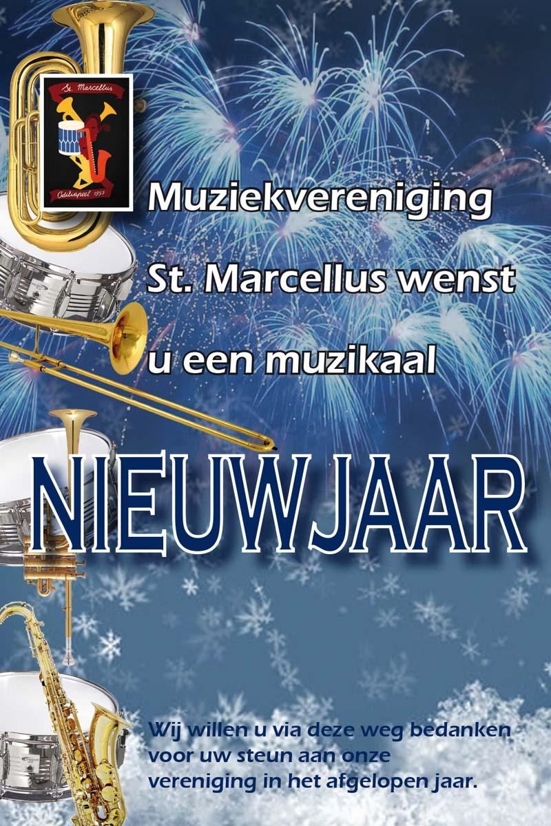 Nieuwjaarswensen 2019 Muziekvereniging St Marcellus